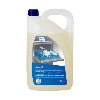 Flüssiges Reinigungsmittel zum Waschen von Gläsern und Tassen Maxx S 6kg