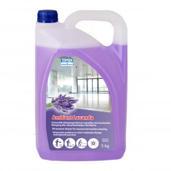 Univerzalno sredstvo za čišćenje vodootpornih površina Ambient Lavanda 5kg