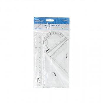Ruler set, 20cm