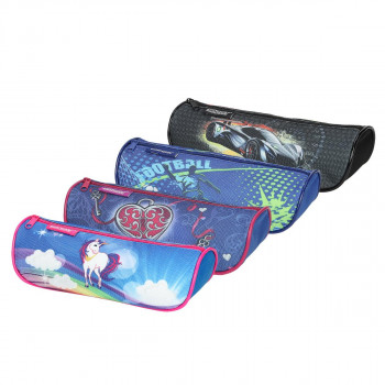 Pouch pencil case ''ANGLE'', 4/1 (Assorted colours)