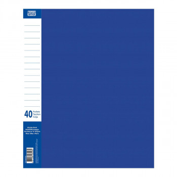 Display Book with 40 Pockets, PP A4