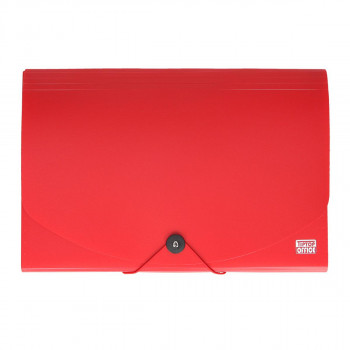 Expanding file folder, A4+, 12 pockets and elastic band