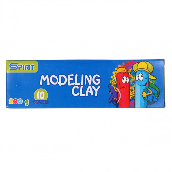 Modeling clay, 10 colors