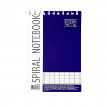 Spiral Notebook A6, Squares
