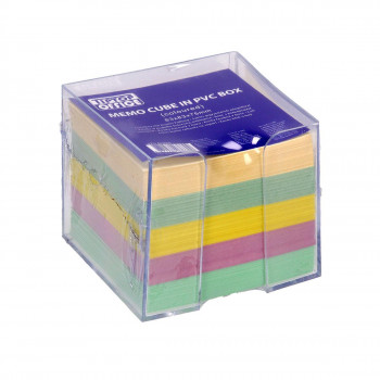 Note Cube in PVC Box, 83x83x75mm