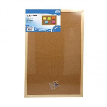 Cork board, 90x120cm
