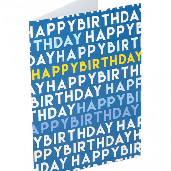 Greeting card ''Happy birthday''