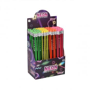 Wooden pencil ''Neon''