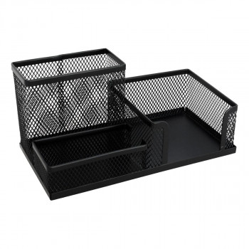 Desk Organiser Metal 3-Part Set, 205x103x98mm