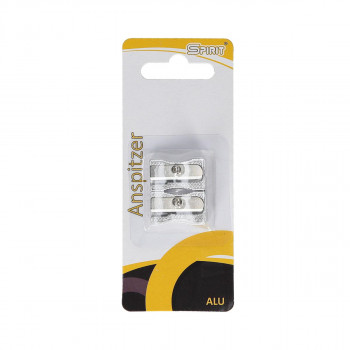 Sharpener ''Alu'', 2pcs blistercard