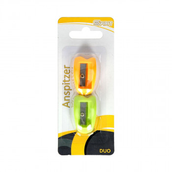Sharpener ''Duo'', PVC 2pcs blister
