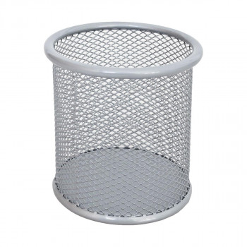 Pen Cup Round Metal, 90x100mm
