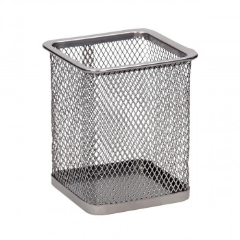 Pen Cup Cube Metal, 80x80x100mm