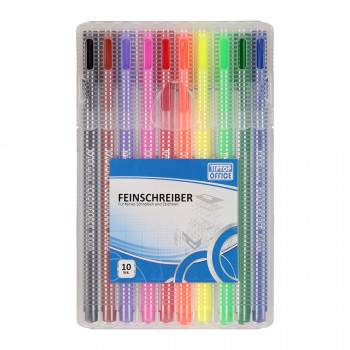 Fineliner ''Premium'', 10/1 PP box