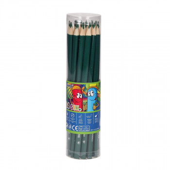 Wooden color pencils ''Premium'', 3.0mm green