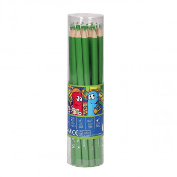 Wooden color pencils ''Premium'', 3.0mm light green