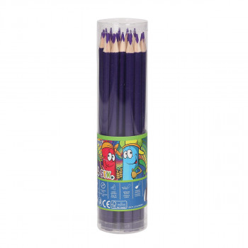 Wooden color pencils ''Premium'', 3.0mm purple