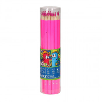 Wooden color pencils ''Premium'', 3.0mm pink