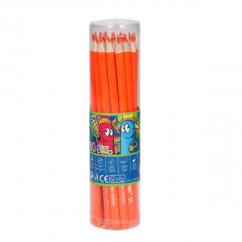 Wooden color pencils ''Premium'', 3.0mm orange