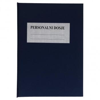 Personalni dosije, latinica - koverta