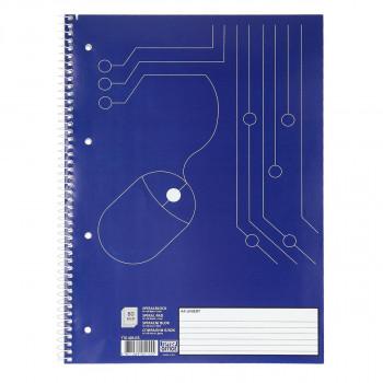 Spiral Notebook A4, Lines
