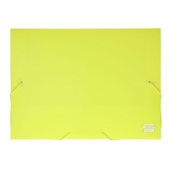 Document File with 2-Elastic Band ''Box'', PP A4