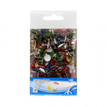Tumb tacks, sorto 200pcs