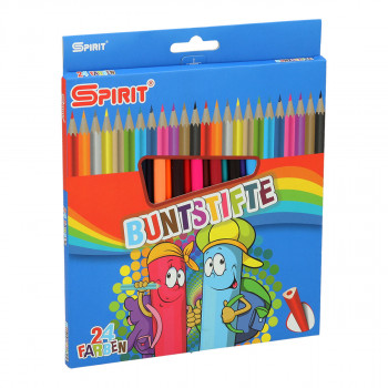 Wooden colors pencils ''Classic'', 24pcs