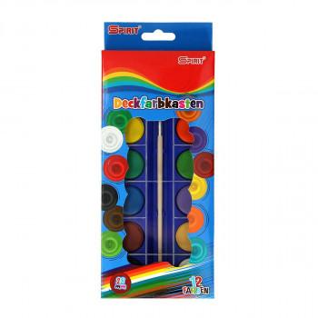 Water colors ''Premium'', 28mm + brush