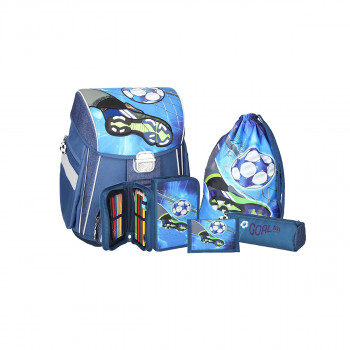 School bag set ''FOOTBALL GOAL'' START 5-pcs (metal buckle)