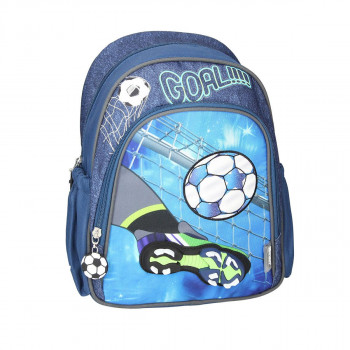 School bag ''FOOTBALL GOAL'' (UNO Collection)