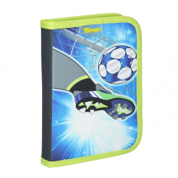 Empty pencil case ''FOOTBALL GOAL'', 1 zipper
