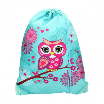 Sport bag ''OWL TURQUISE''