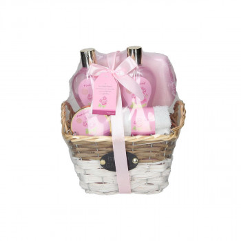 Spa set ''PINKLEAF''