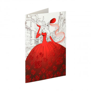 3D Greeting card ''Casual 05''