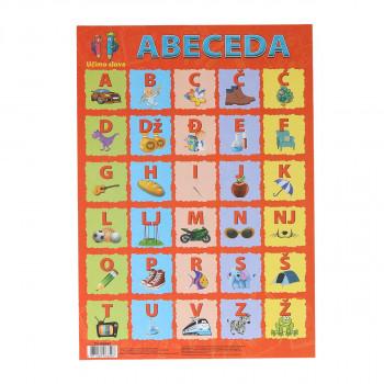 Učimo slova (Abeceda) A4