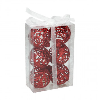 New Year Ball set, 6pcs