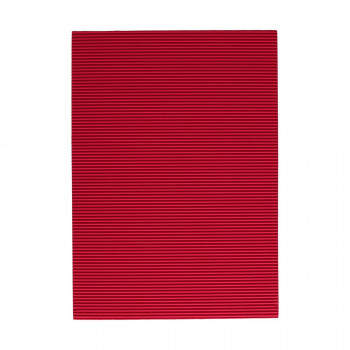 Corrugated paper, fusscia