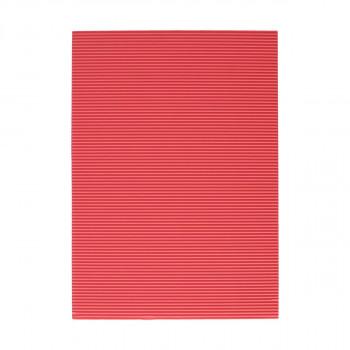 Corrugated paper, pink