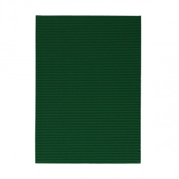 Corrugated paper, dark green