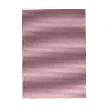 Corrugated paper, pastel pink