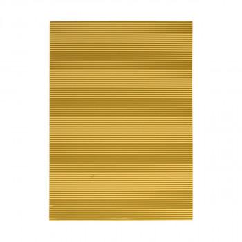 Karton rebrasti, žuta