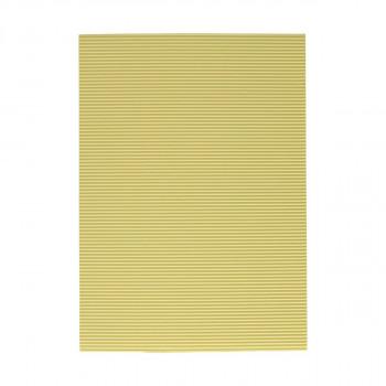 Corrugated paper, beige
