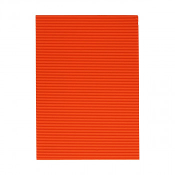 Bastelwellpappe Standard 1/1, Orange