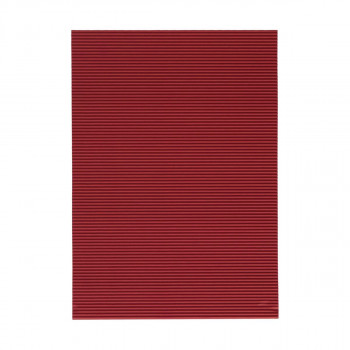Corrugated paper, dark red