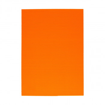 Corrugated paper, fluo-light orange