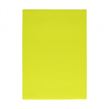 Corrugated paper, fluo-yellow