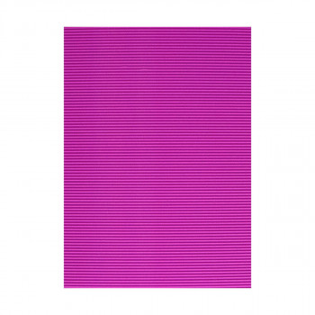 Corrugated paper, fluo-purple