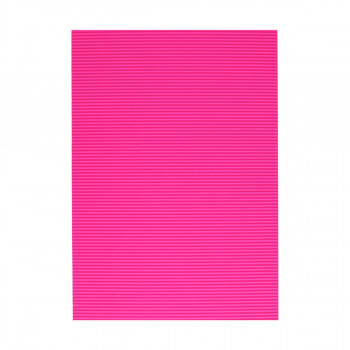 Corrugated paper, fluo-pink