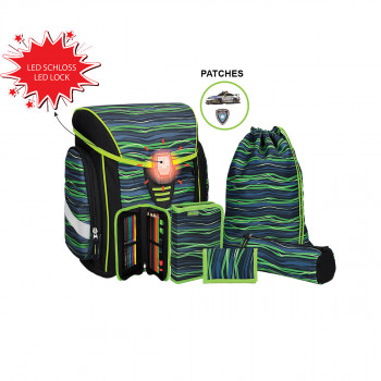School bag set ''COSMO 03'' 6-Pcs (LED buckle)